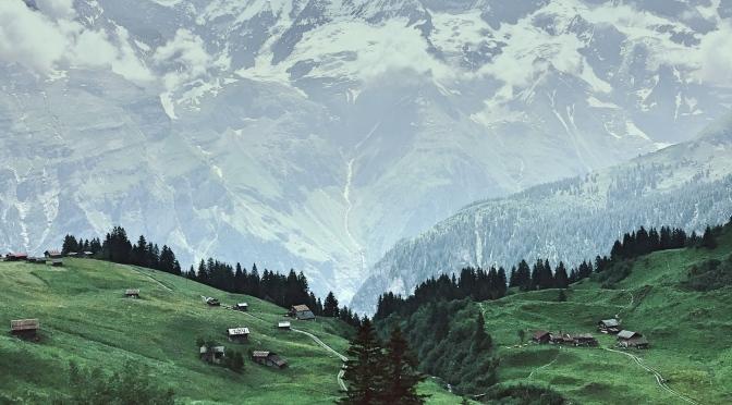 Murren, Switzerland: North Face Hike